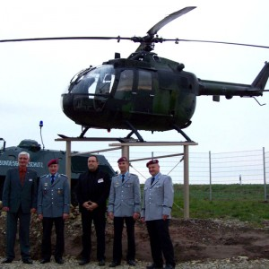 German Army Bo105 retired to Border museum