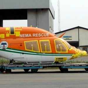 First EMS Bell 429 arrives in Nigeria for NEMA