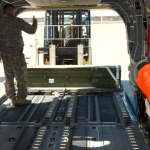 Helicopter loading system lightens burden on soldiers