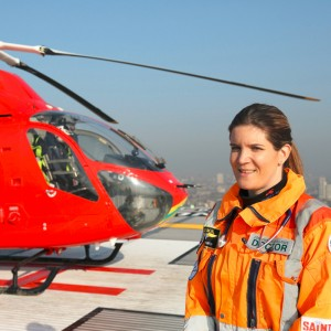 London's Air Ambulance in TV series starting Thursday
