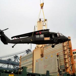 Three UH-60M Black Hawks arrive in Thailand