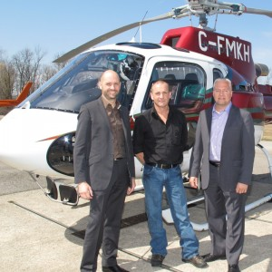 Hy-Ridge Helicopters takes delivery of AS350B3e