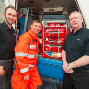 Yorkshire Air Ambulance paramedics help design revolutionary kit bags