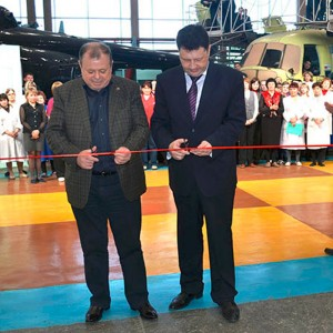 New facilities opened at Ulan-Ude Aviation Plant