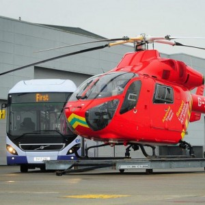 FirstGroup pledges £100K to London's Air Ambulance