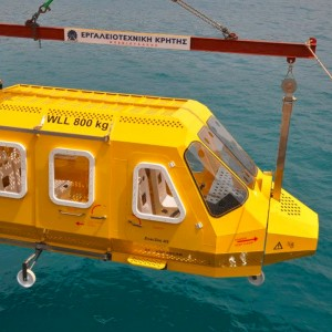 Greek-manufactured helicopter evacuation simulator launched