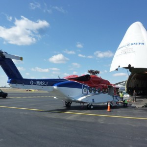Volga-Dnepr completes 1,697th helicopter delivery with two S92 and a Super Puma