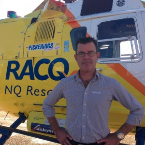 Businessman steps in to save RACQ NQ rescue helicopter