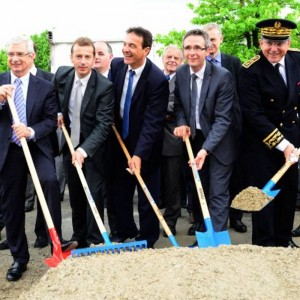 Eurocopter breaks ground for new Paris-Le Bourget industrial site