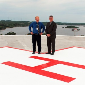 Ontario – Ramsey Lake Health Centre reopens helipad
