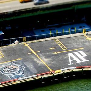 Audemars Piguet continues advertising at New York's E34 Heliport