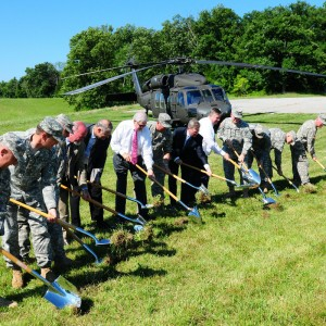 Kentucky Guard breaks ground for new Army Aviation home