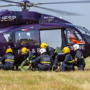 Eurocopter UK provides emergency services demo at air tattoo