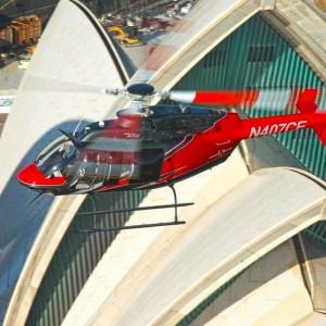 Bell takes 407GX round Australia