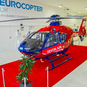 UK – Devon Air Ambulance takes delivery of Eurocopter EC135P2i
