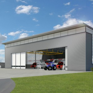 Construction begins on Bristow SAR facility at Inverness