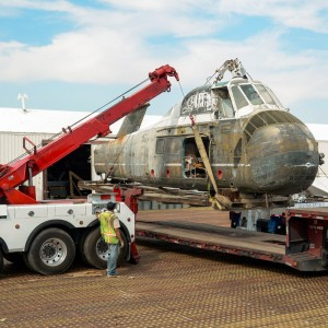 AFFT Museum moves helicopter to Texas