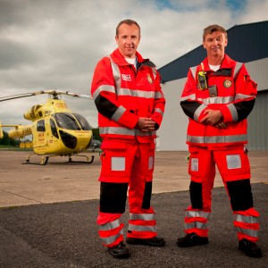 Purpose designed flight suits for Yorkshire Air Ambulance