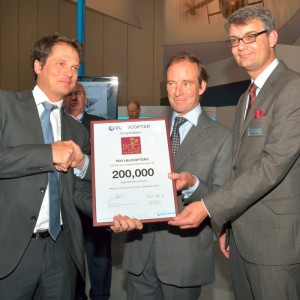 PDG Helicopters marks 40 years and 200,000 Squirrel hours