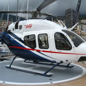 Bell showcases 429 at Monaco Yacht Show 2013