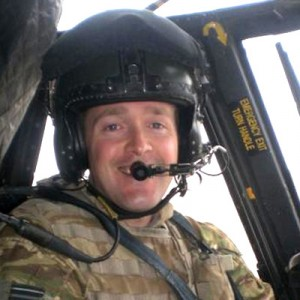 British Chinook Pilot Commended
