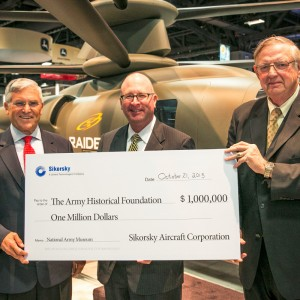 Sikorsky and UTC commit $1 Million for National Museum of the US Army