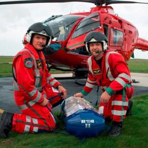 Wales Air Ambulance installs BabyPod portable incubators in its EC135s