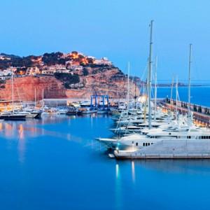 Helipad approved for luxury Mallorca marina