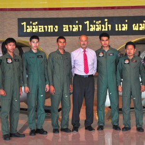 Royal Thai Army add R44 – with training from Heliluck and Mornington Sanford Aviation