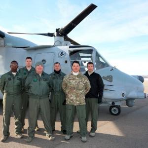 CV-22 Osprey arrives at National Museum of the USAF