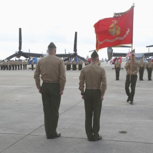 VMM-266 welcomes new commanding officer