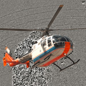 DLR researchers make big step towards helicopter noise reduction