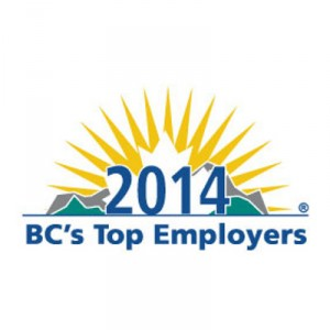 Vector Aerospace wins BC's Top Employers for 2014 Award