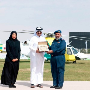 Hamad Medical officially launches AW139 air ambulance fleet