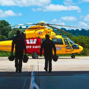 Westpac Life Saver Rescue Helicopter flies 7500th mission