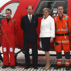 A Royal Visit to London Air Ambulance