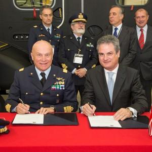 AgustaWestland and Italian Air Force sign LOI for training