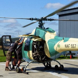 Nigerian Air Force Mi-34s to fly again – in New Zealand