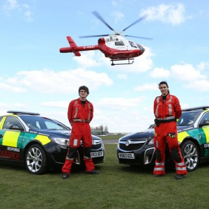 Essex & Herts Air Ambulance save lives at night – by car, not helicopter