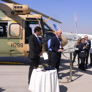 Chile takes delivery of the first Cougar AS532 ALe