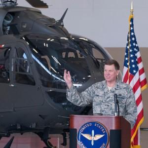 Kentucky Army Guard rolls out first of six UH-72A Lakotas