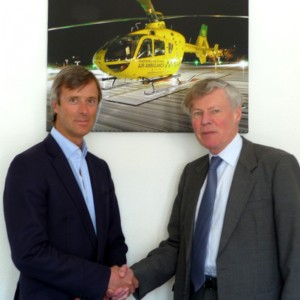 Hampshire/IOW Air Ambulance appoints new chairman