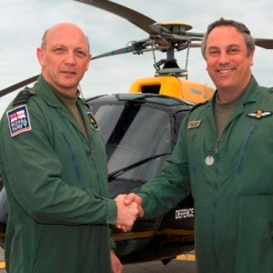 New Commandant at UK's Defence Helicopter Flying School