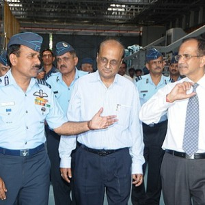 Air Chief Visits HAL Bangalore – opens LUH transmission test facilities building