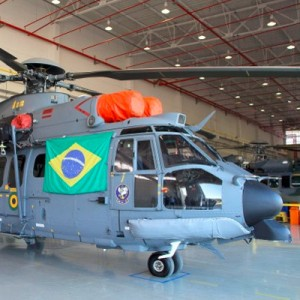 Helibras delivers the first EC725 produced in Brazil