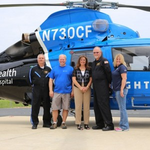 Metro delivers AS365 N3+ to Miami Valley CareFlight