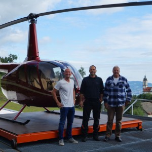 Rotortec prepares first Swiss R66 for Fuchs Helikopter
