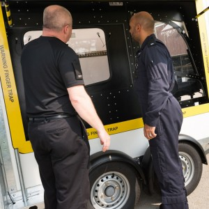 UK – NPAS take delivery of Emergency Exit Jettison (EEJ) training rig