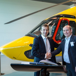 Airbus hands over first two EC175s