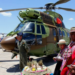 Airbus delivers second AS332C1e to Bolivian Air Force